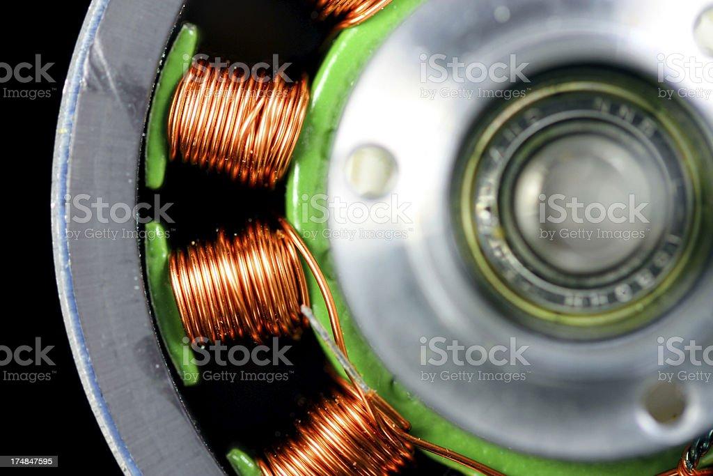 Electromagnetism royalty-free stock photo