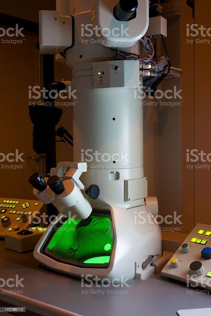 Electron Microscope stock photo