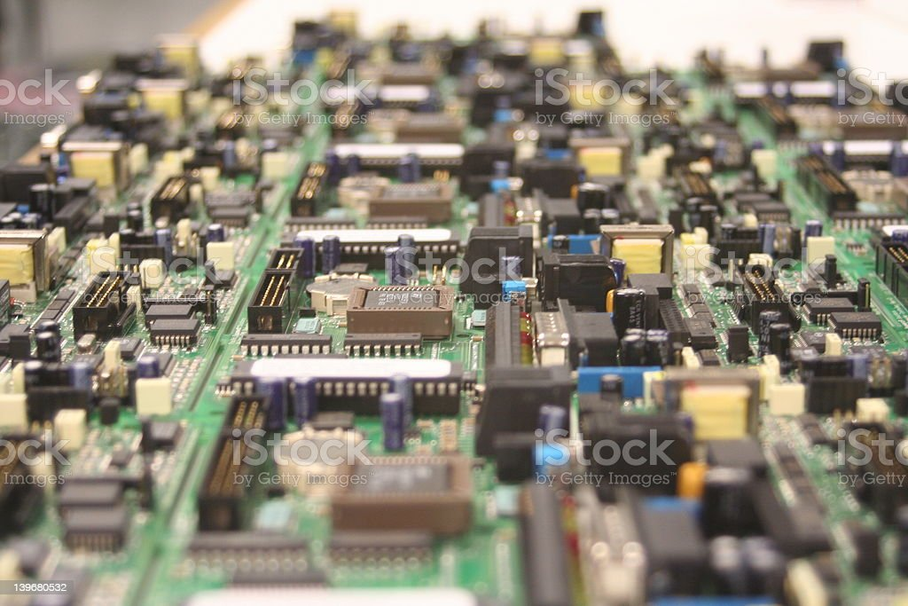Electronic Assembly royalty-free stock photo