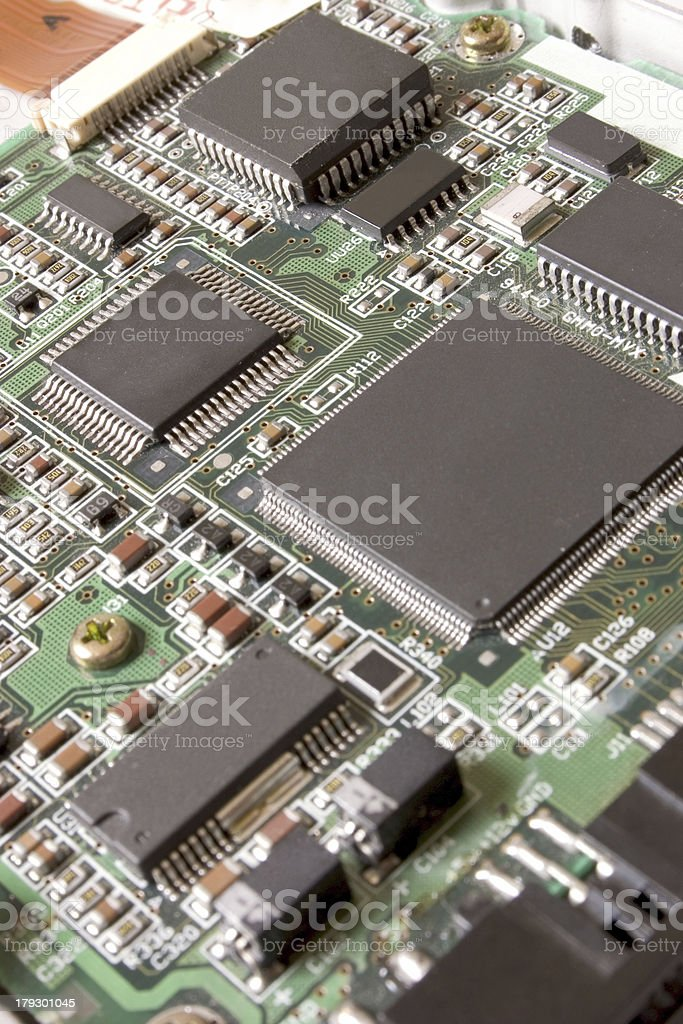 Electronic Board royalty-free stock photo
