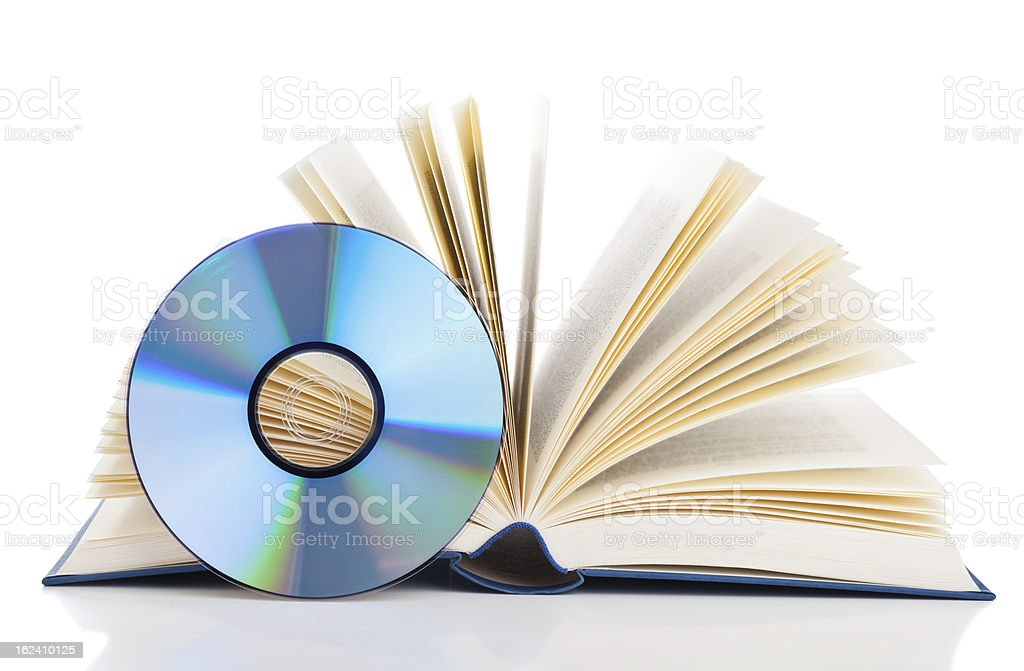 Electronic book stock photo