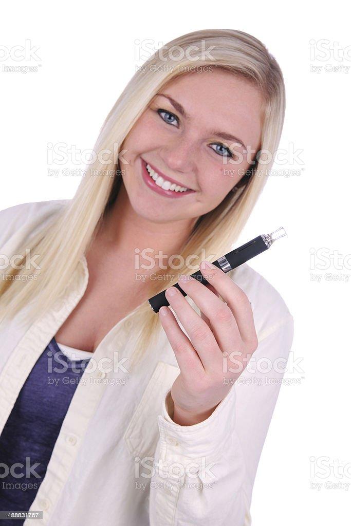 Electronic Cigarette stock photo