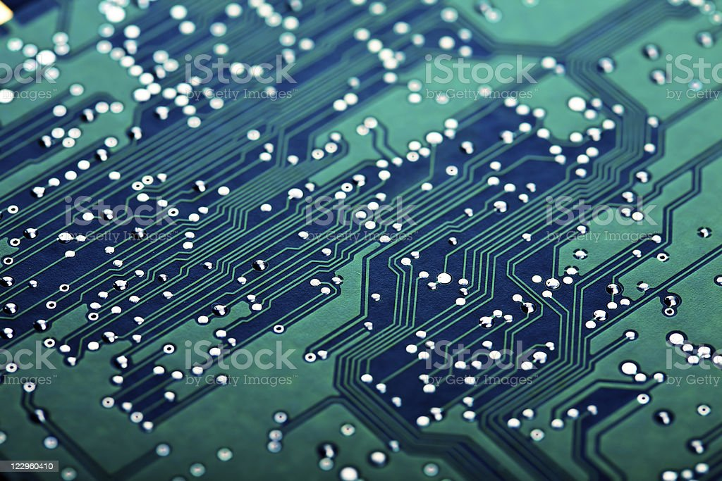 electronic circuit board royalty-free stock photo