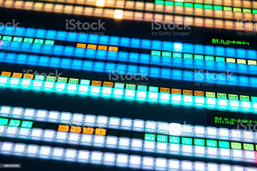 Electronic control board stock photo