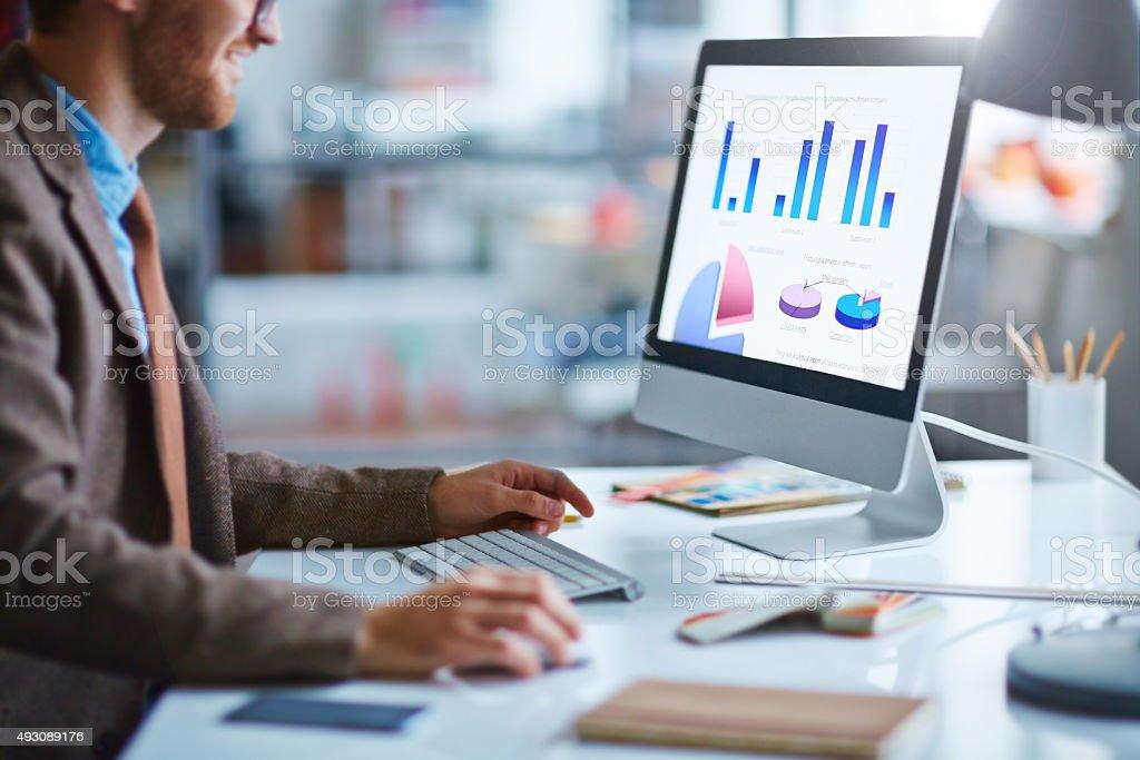 Electronic data stock photo