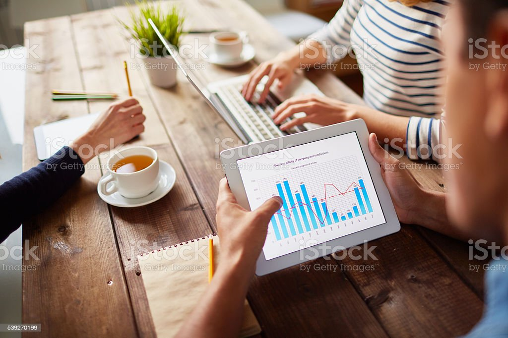 Electronic data stock photo