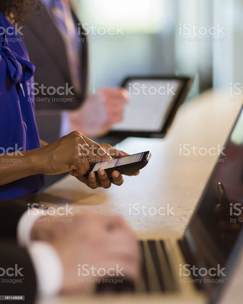 Electronic Devices royalty-free stock photo