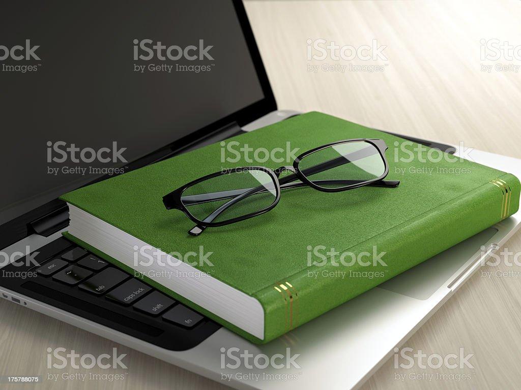 Electronic eduction stock photo
