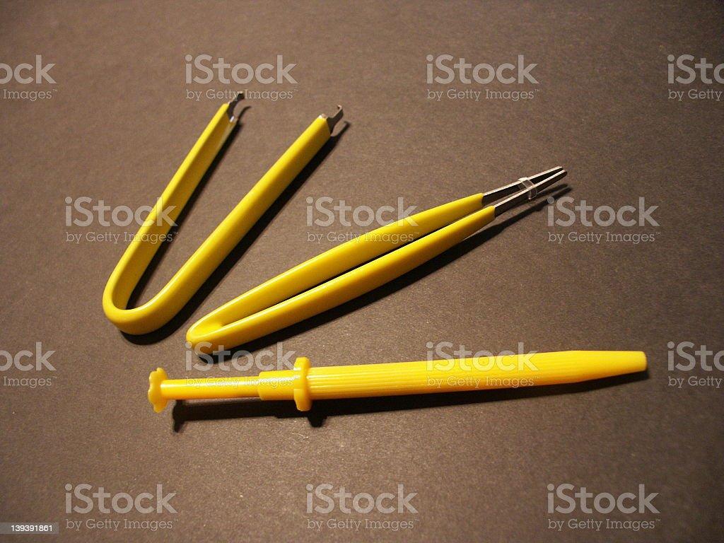Electronic Equipment  Tools stock photo