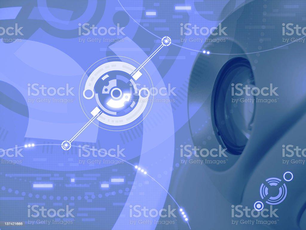 Electronic Eye stock photo