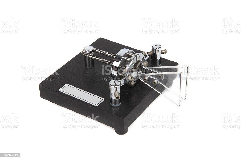 Electronic Key for Amateur Radio Morse Coding royalty-free stock photo