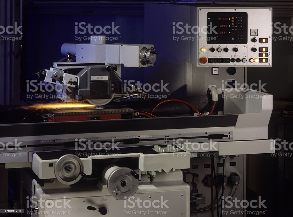 Electronic machine part royalty-free stock photo