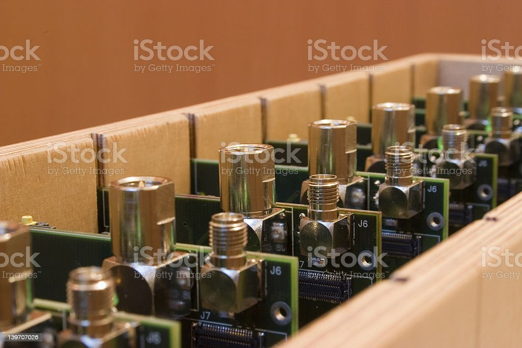 Electronic manufacturing royalty-free stock photo