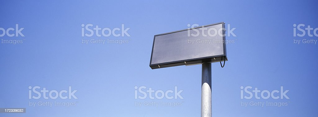 Electronic Message Board royalty-free stock photo