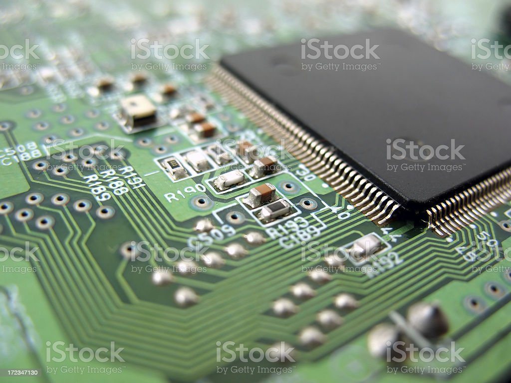 Electronic royalty-free stock photo