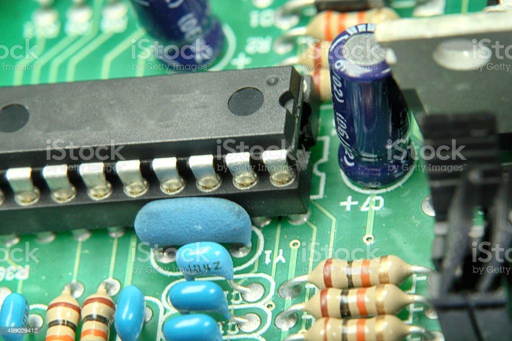 electronic repair stock photo