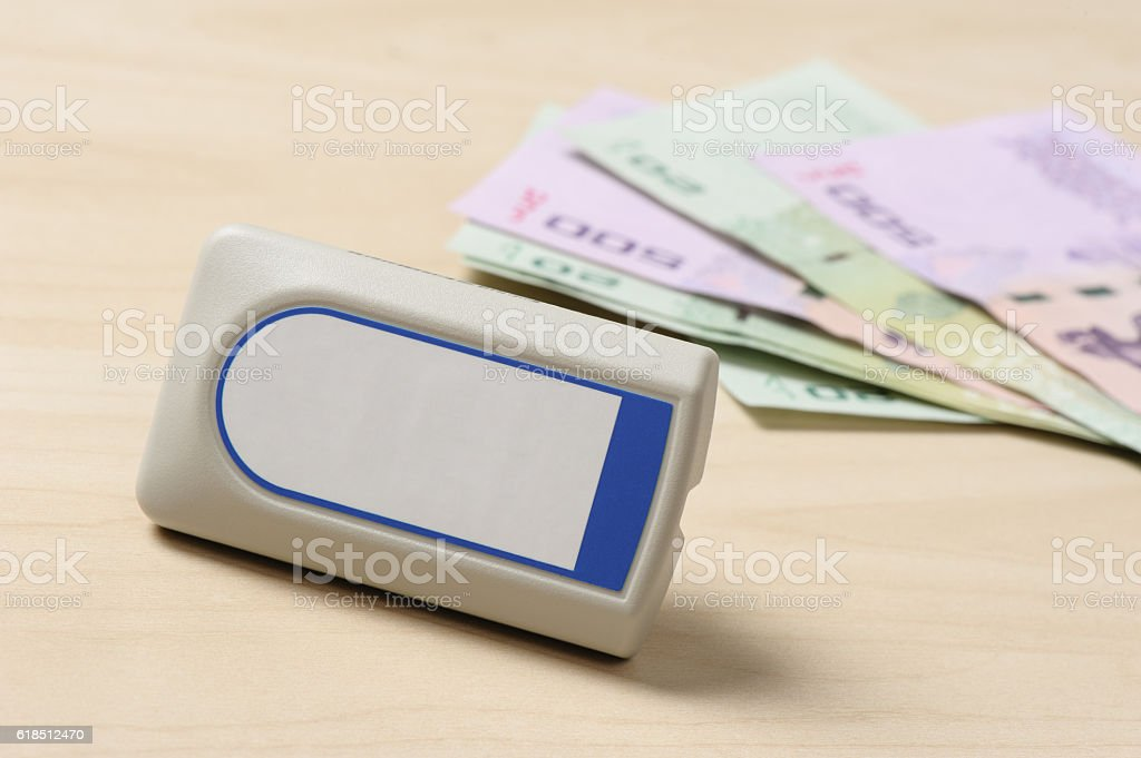Electronic Toll Collection stock photo
