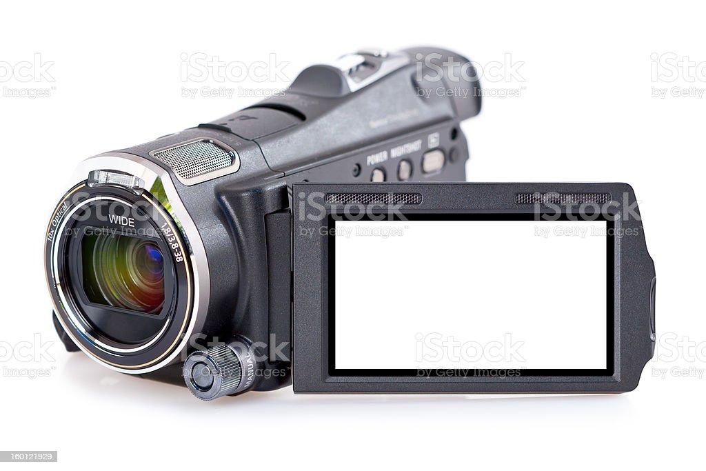 Electronic video camera stock photo