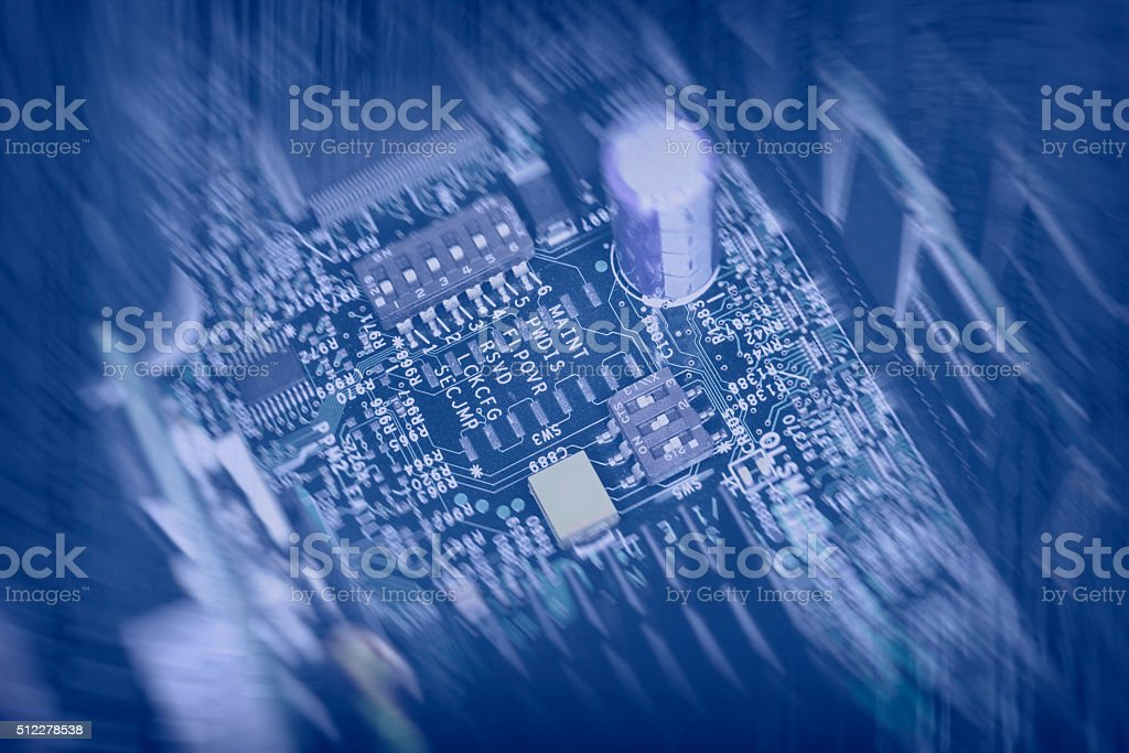 electronics abstract computer background stock photo