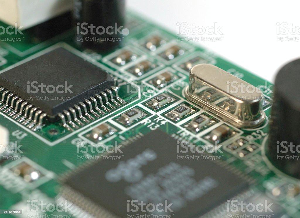 Electronics closeup royalty-free stock photo