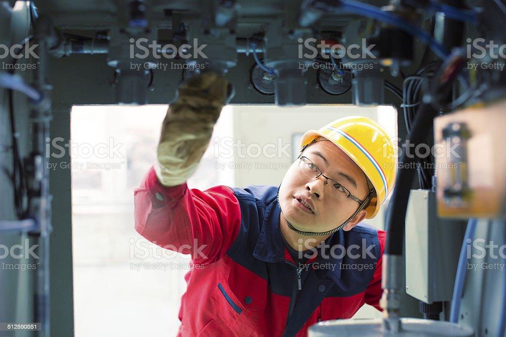 Electronics engineer stock photo