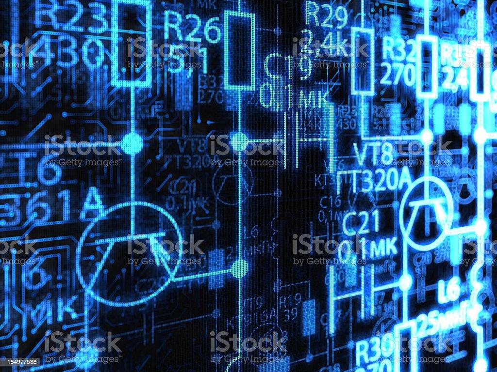 Electronics royalty-free stock photo