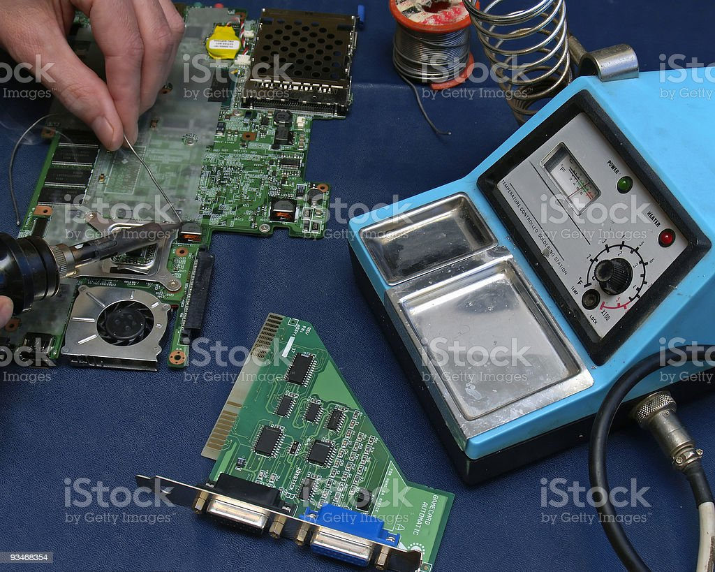 Electronics Repair royalty-free stock photo