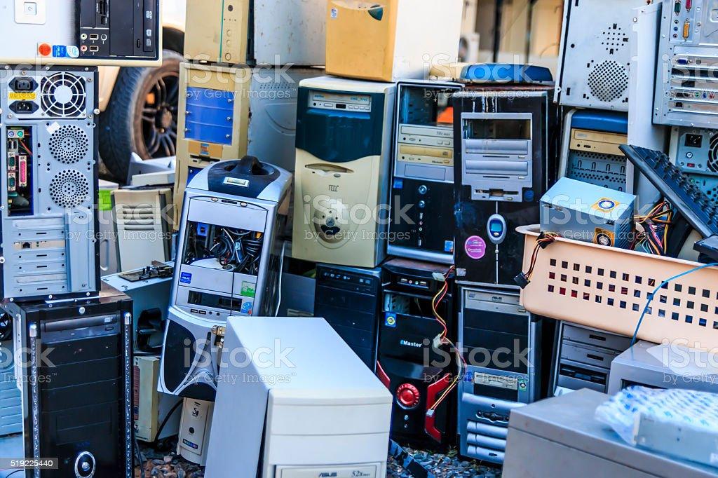 Electronics Second hand stock photo