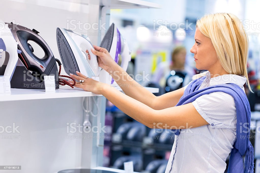 Electronics store royalty-free stock photo