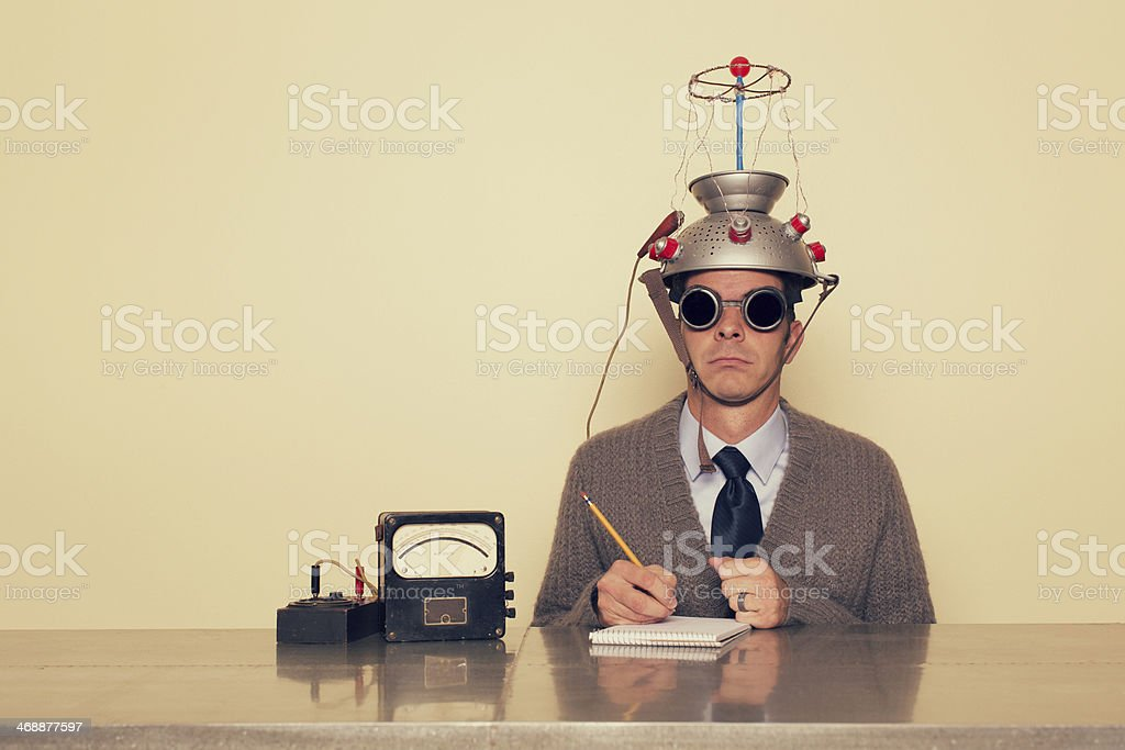 Electrotherapy stock photo