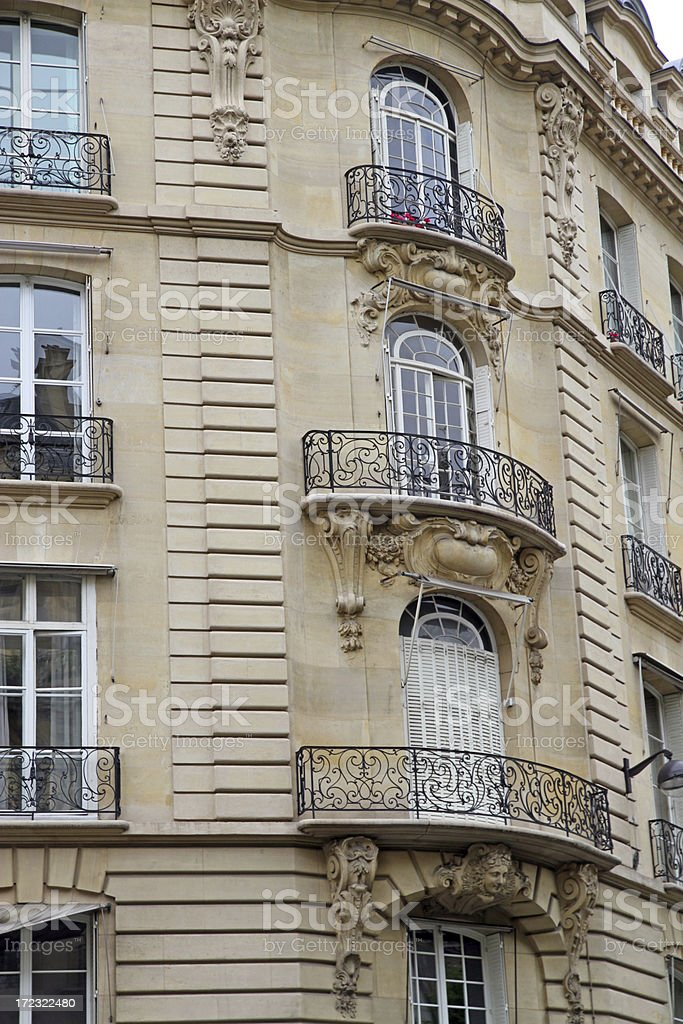 Elegance and Balconies royalty-free stock photo