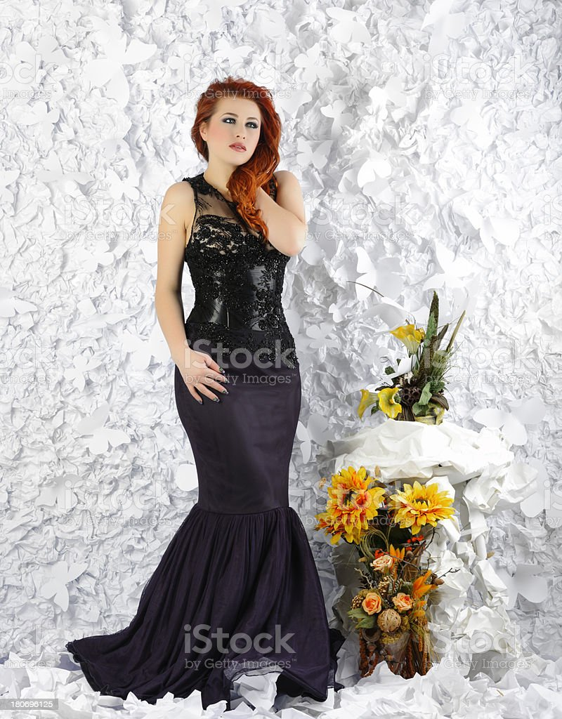 elegance and fashion royalty-free stock photo