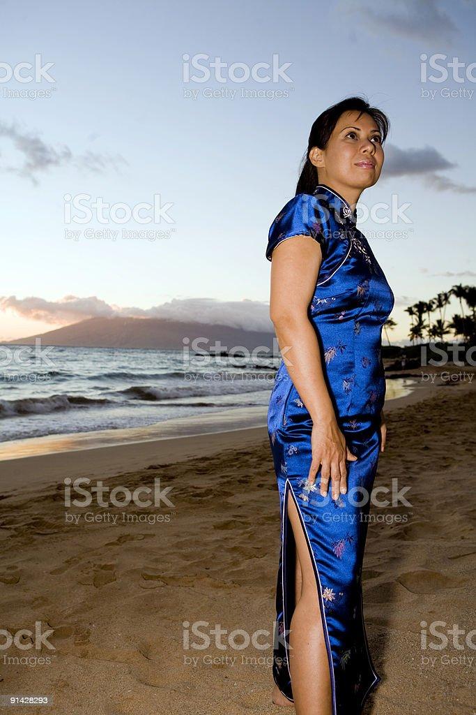 Elegance At Dusk stock photo