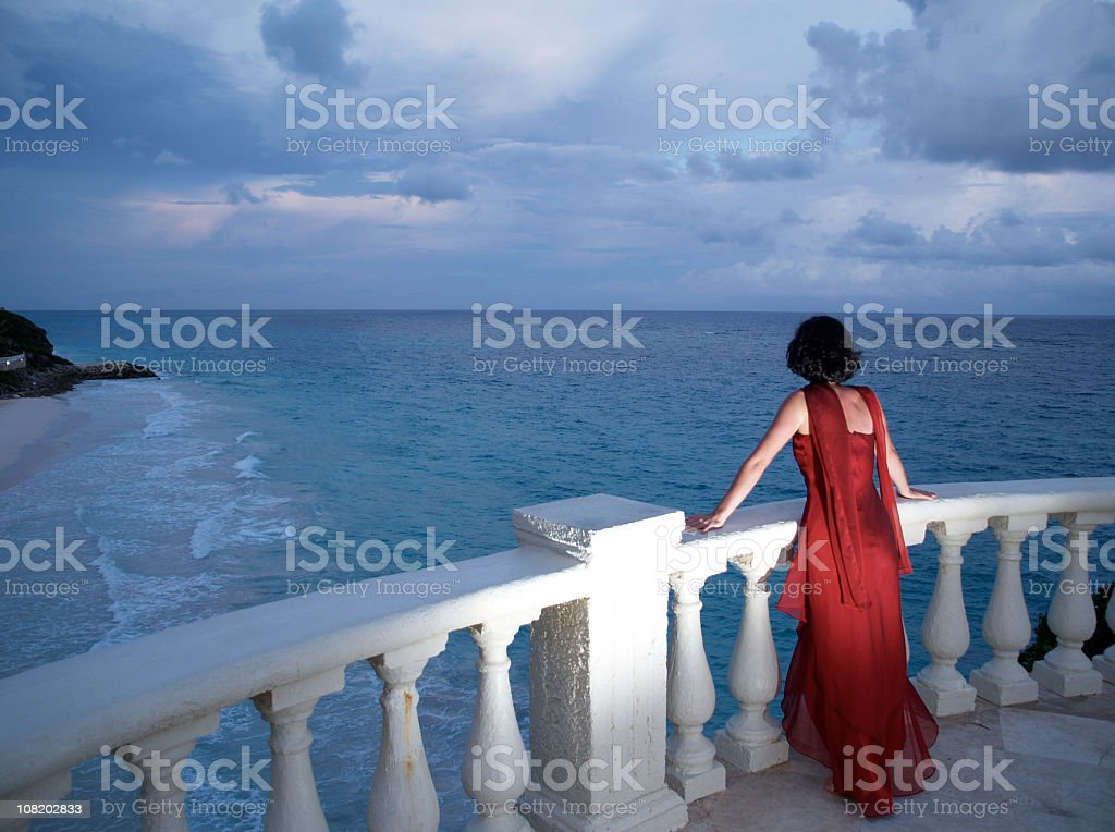 Elegance By The Sea stock photo