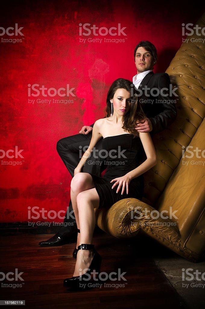 Elegance Couple royalty-free stock photo