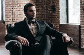Elegance is in his blood.