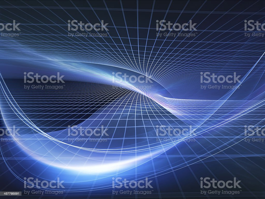Elegance of Fractal Realms royalty-free stock photo