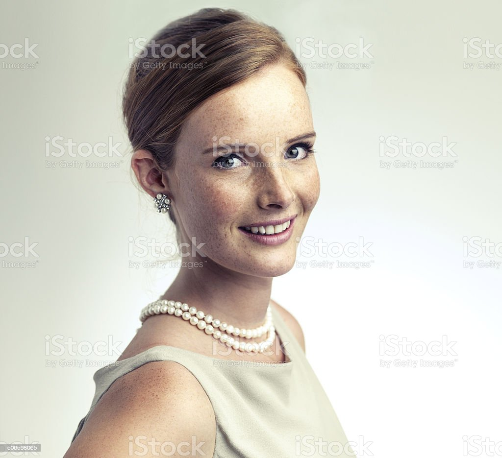 Elegant and refined royalty-free stock photo