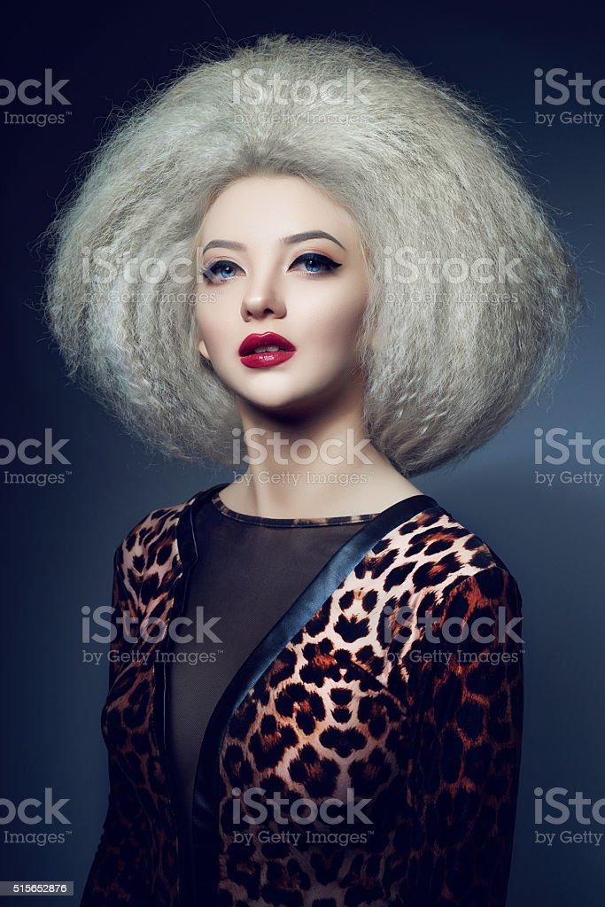 elegant and seductive stock photo