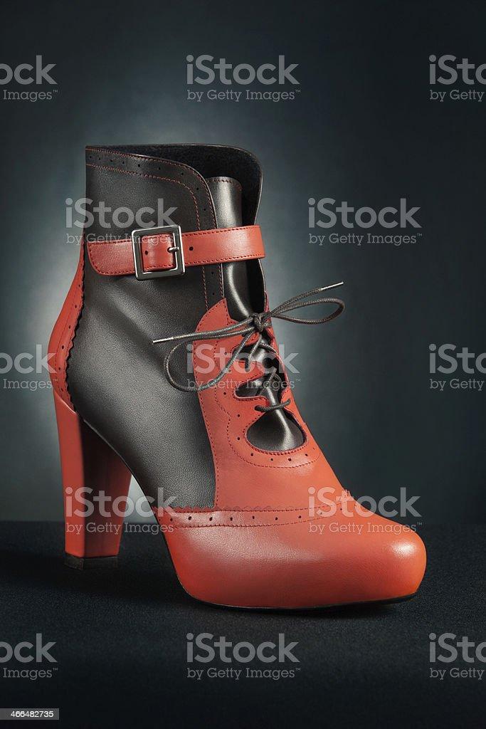 Elegant ankle boot royalty-free stock photo