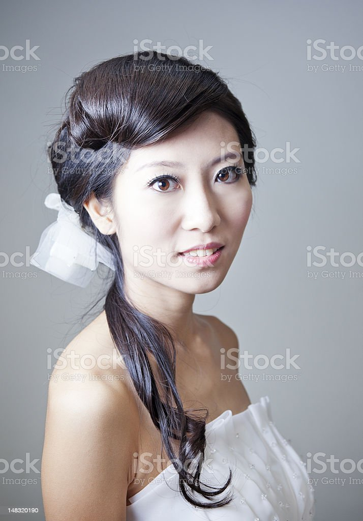 Elegant Asian Beauty. royalty-free stock photo