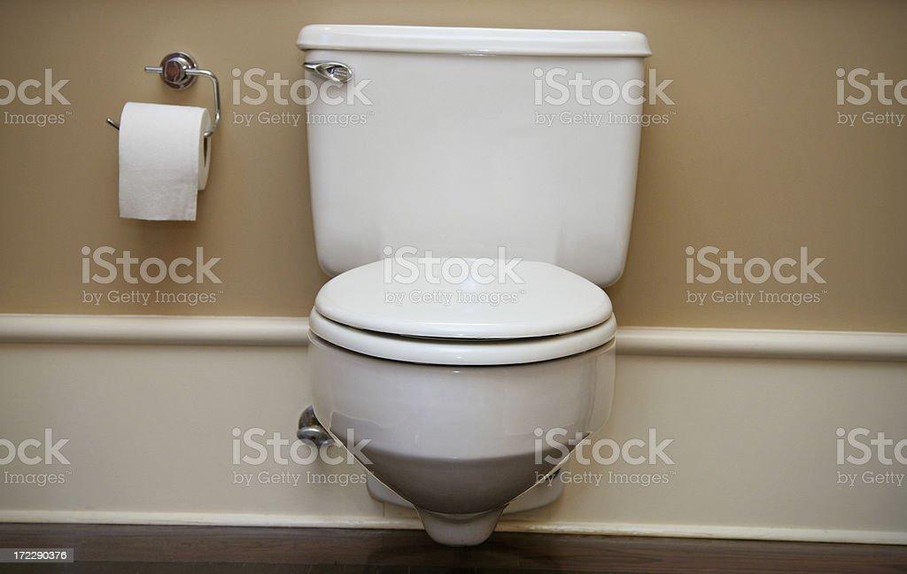 Elegant Bathroom and Toilet stock photo