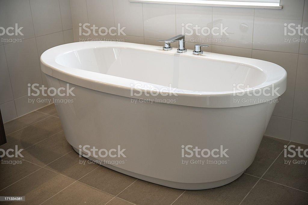 Elegant Bathtub stock photo