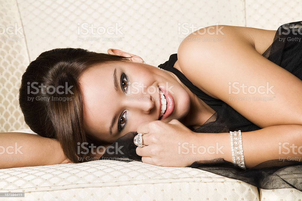 Elegant Beauty royalty-free stock photo