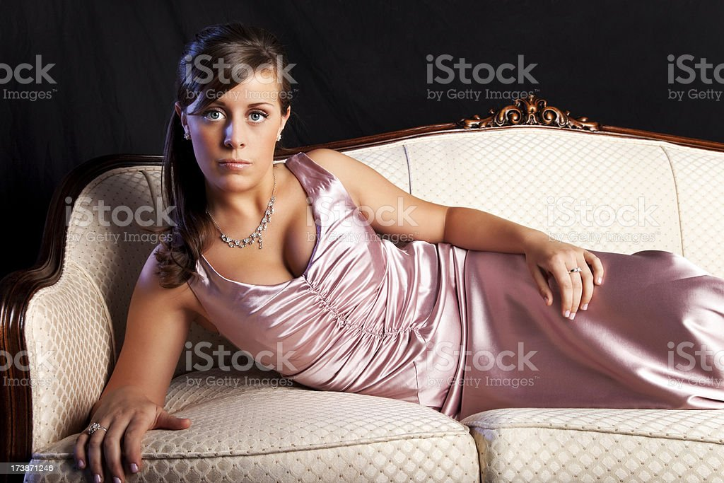 Elegant Beauty royalty-free stock photo