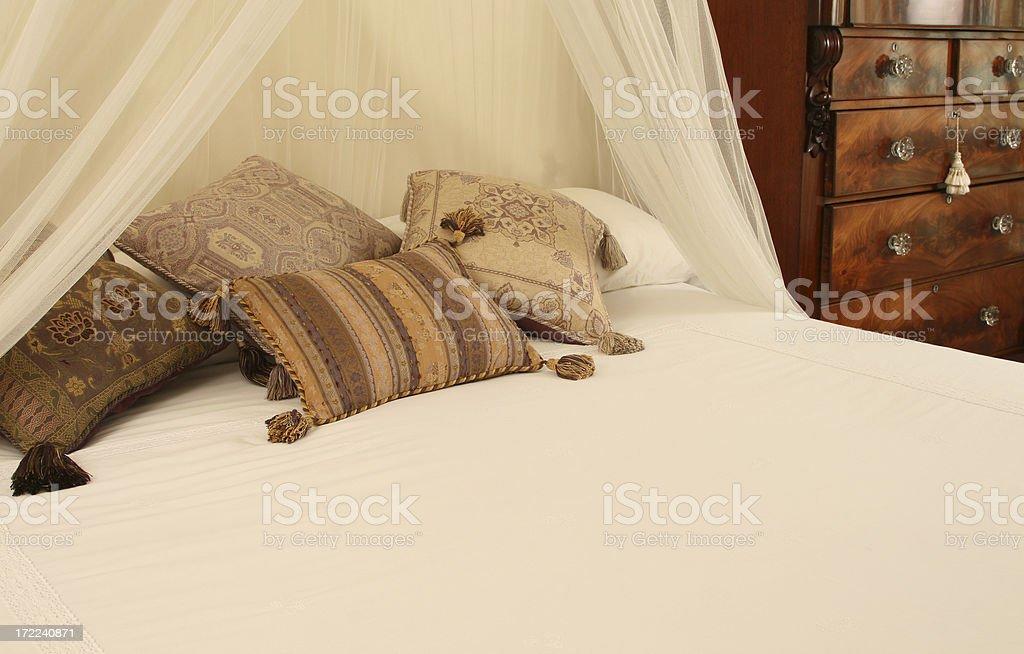 Elegant bedroom royalty-free stock photo