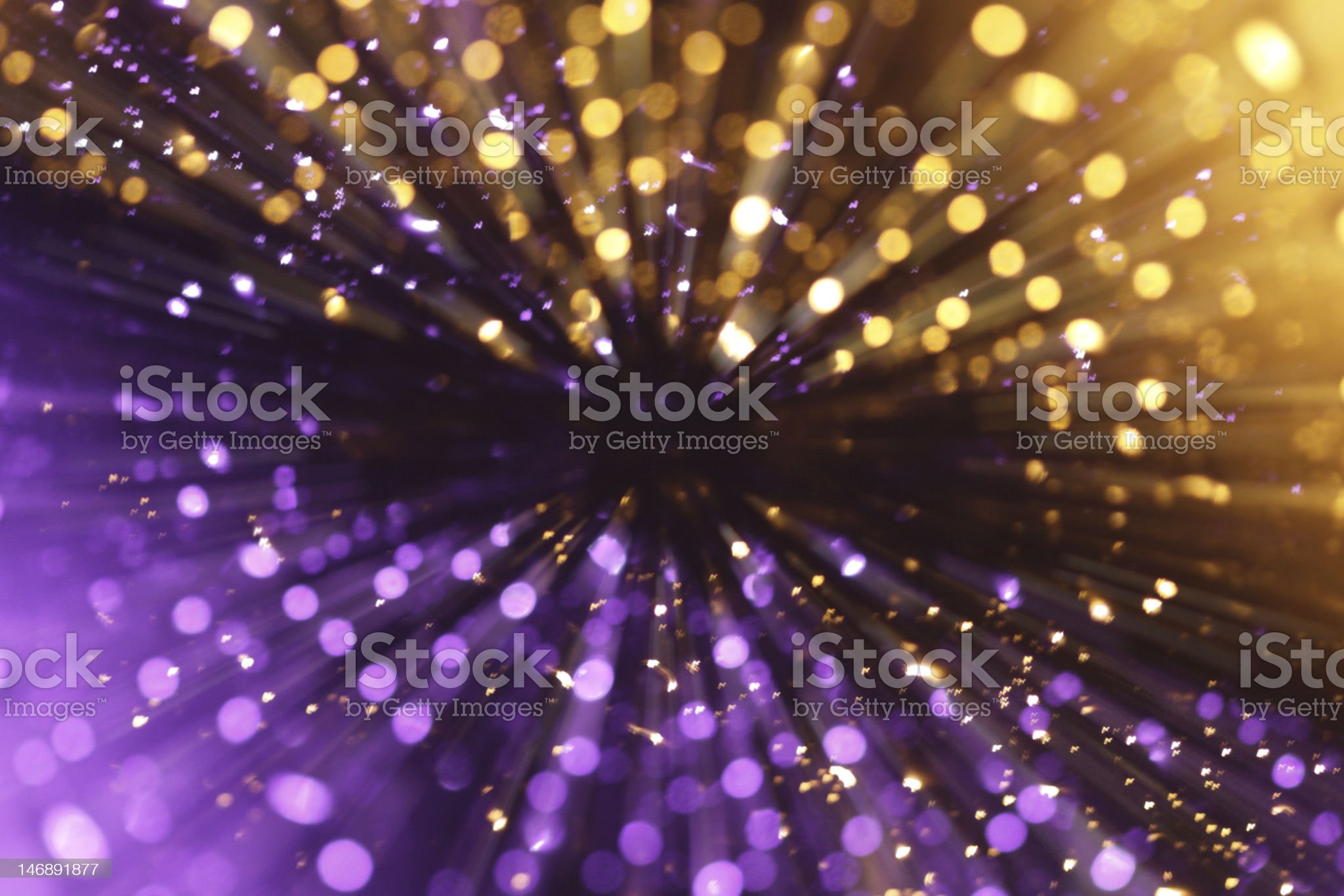 Elegant bokeh light explosion royalty-free stock photo