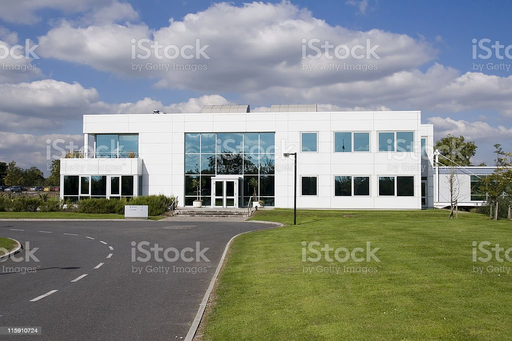 elegant building stock photo