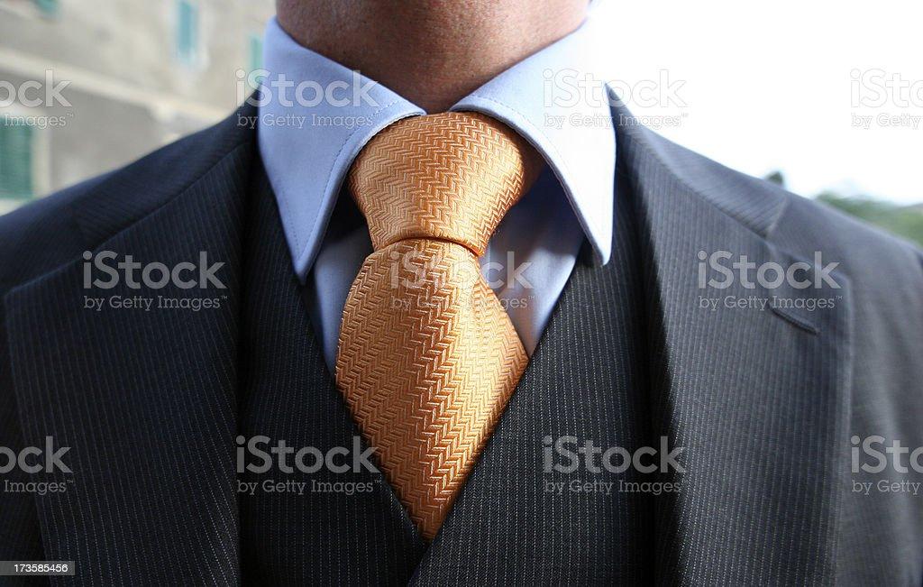 elegant business man royalty-free stock photo