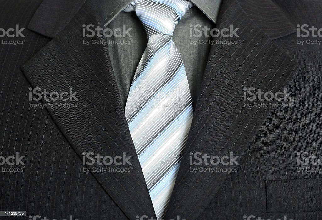 Elegant business suit stock photo
